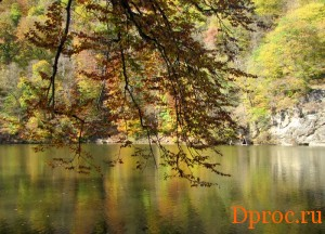 Горное озеро Парзлич