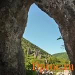 Горис. Пещерный город