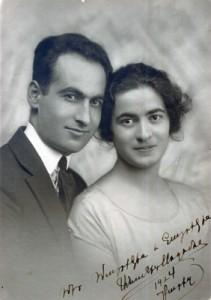 С супругой Анаит