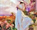 Девушка под зонтиком-1